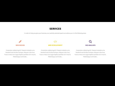 How To Use Service Section For Illdy WordPress Theme