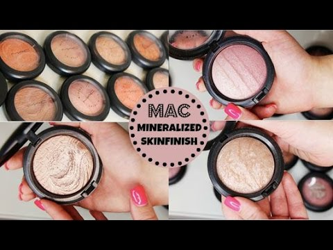 MAC Mineralized Skinfinish Collection 2015