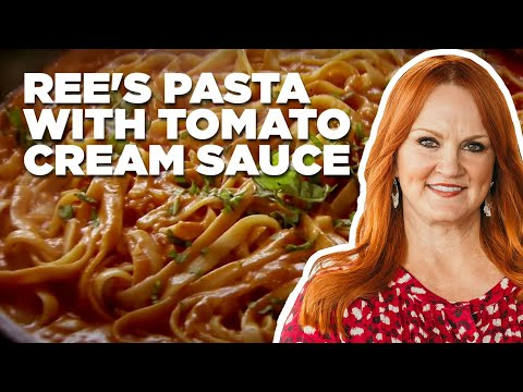 Ree's Pasta with Tomato Cream Sauce | Food Network