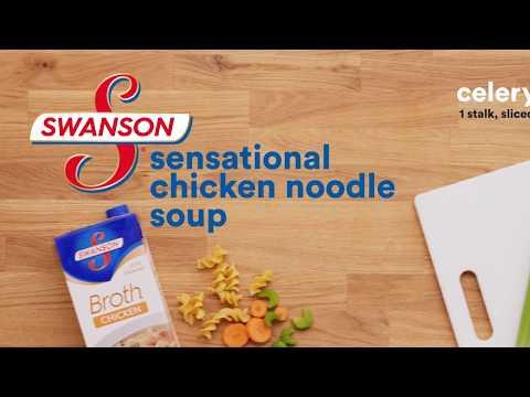 Sensational Chicken Noodle Soup   Swanson Broth