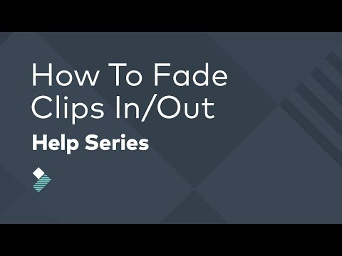 How to Fade In & Out of Videos EASY - Filmora Tutorial