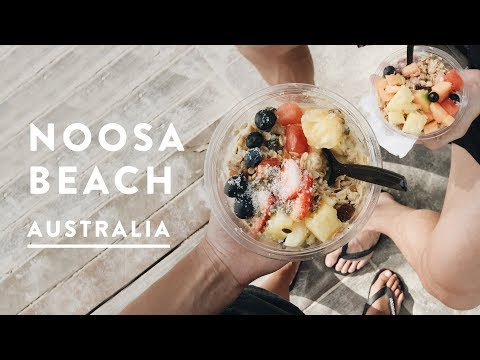 NOOSA BEACH TRAVEL & DRONE   Sunshine Coast, Australia   Travel Vlog 031, 2017