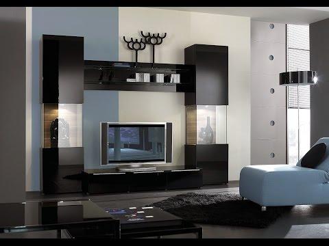 living room paint modern TV Wall unit decorating furniture paint ideas