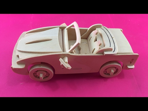 3D wooden Puzzle toy, How to make a wooden convertible?