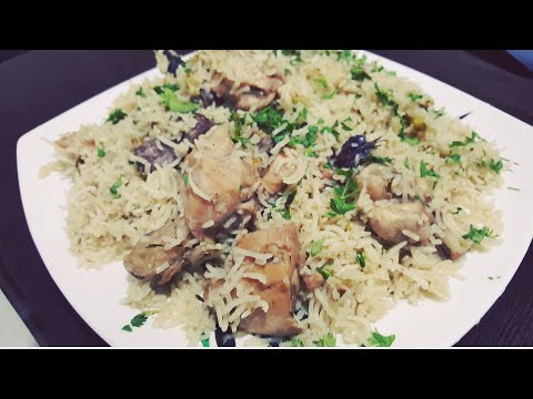 Chicken White Pulaao/ By Viwer's Request/ Konkani Cuisine/Sehri Special