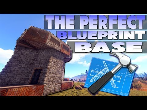 I Finally made the PERFECT Base for BLUEPRINTS System | Rust Building