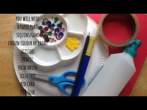 How to make rosettes/winners ribbon