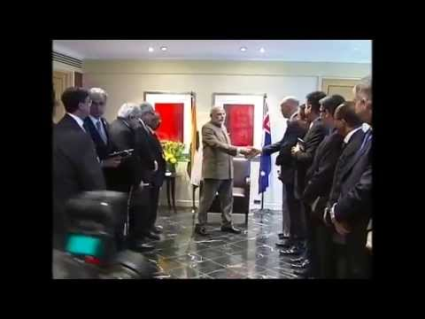 PM Modi meets the Institutional Investors in Melbourne