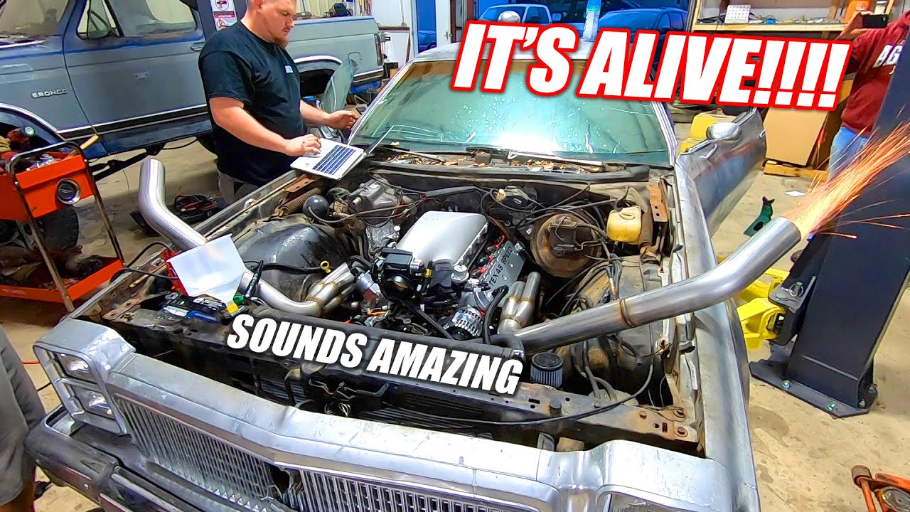 LS Swapping Demo Ranch's EL CHROMINO Part 2: First Fire Up... The Bald Eagles Sound PERFECT!!!