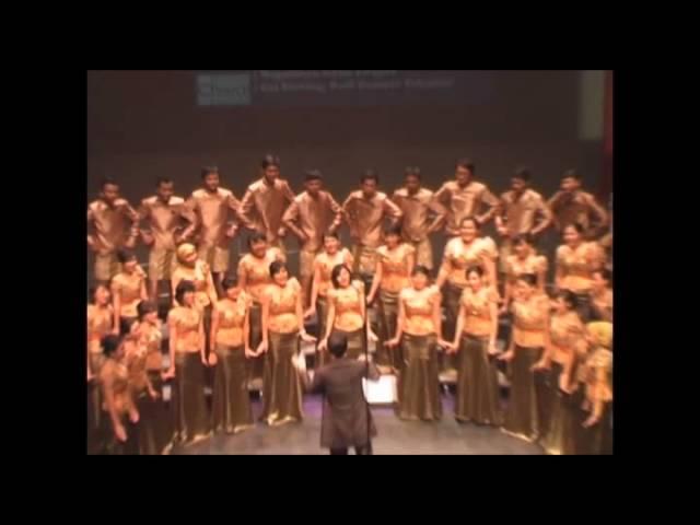 Unpad Choir - Gai Bintang (Arr. Budi Susanto Yohannes)