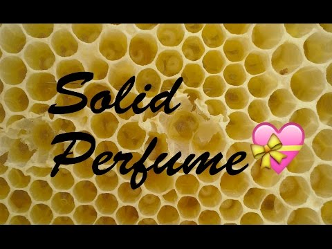 Making and Packaging Solid Perfume