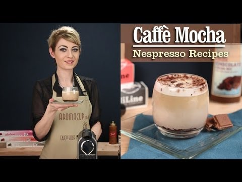 How to Make a perfect Caffe Mocha with the Nespresso Machine