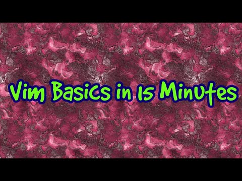 Vim basics + Reverse Search in Linux