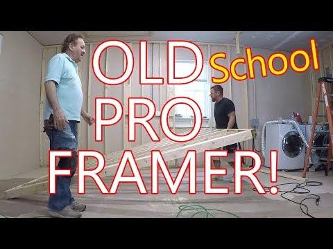 69 Year Old Pro Framer!