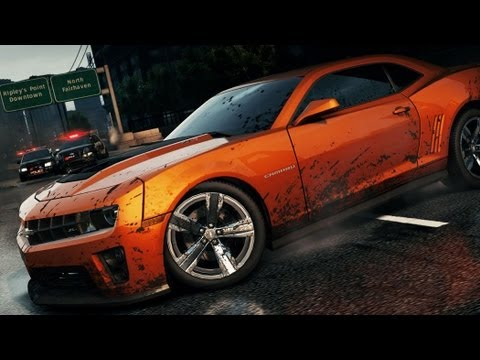 Need for Speed™ Most Wanted Chevrolet Camaro ZL1 Hidden Location Find It, Drive It (NFS001)