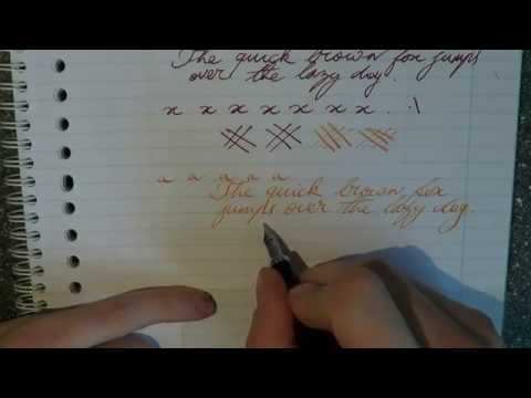 How to Improve your Handwriting with Fountain Pens