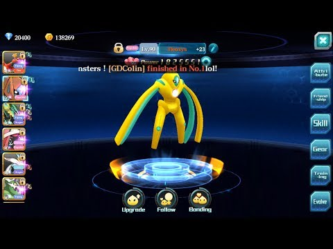 FLASH DEOXYS!! THE YELLOW ALIEN CRUSHING B&W KYUREM!