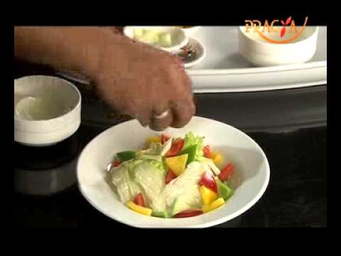 How to make Exotic Garden Green Salad- Health foods- Smart Kitchen