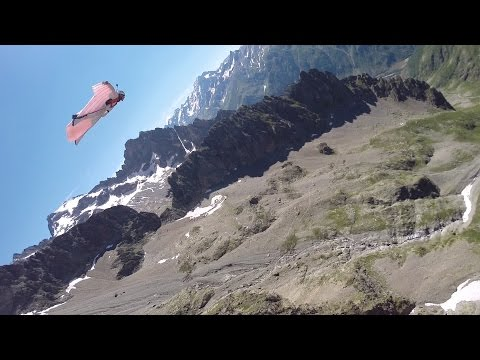 Endless Wingsuit flight at Olan Peak