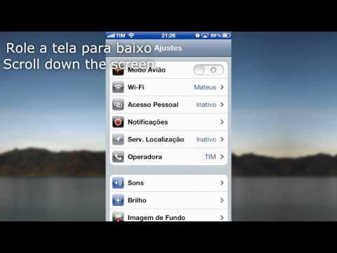 iOS Quick Tutorial - How to change Safari search engine - Como trocar o buscador do Safari