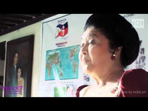 Imelda Marcos talks about Aquino, Kadhafi and Spratly's