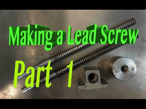 How to make a LEAD SCREW