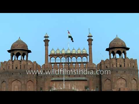 Red Fort, a historic fort of Mughal emperors in Delhi