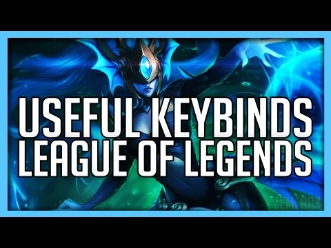 Useful Keybindings To Improve Yourself In League of Legends