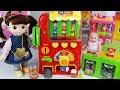 Vending machine baby doll drinks toys play - ToyMong TV 토이몽