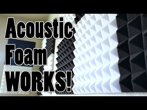 Acoustic Foam Panels FTW feat. Arrowzoom