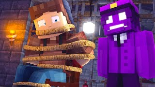 99% IMPOSSIBLE TO ESCAPE PURPLE GUY! - KIDNAPPED BY FNAF PURPLE GUY  - MINECRAFT TROLL + ROLEPLAY