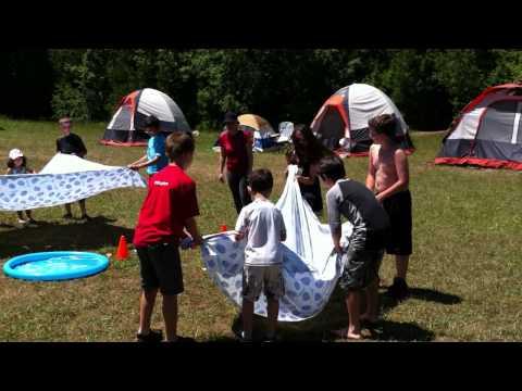 Water Balloon Catapults!