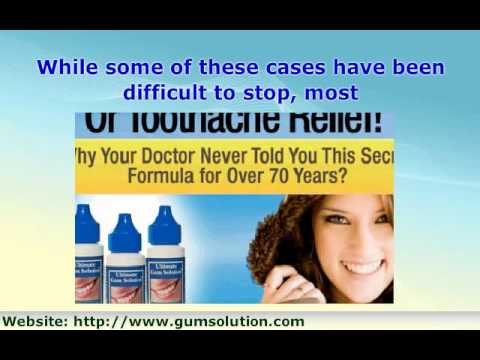 Sore Gums Remedy, Sore Gums Treatment, How to Prevent and St