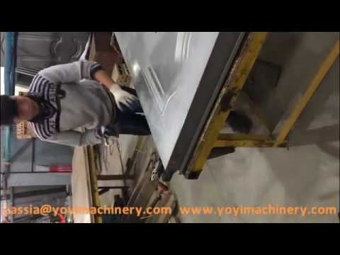 how to make steeldoors, metal door making