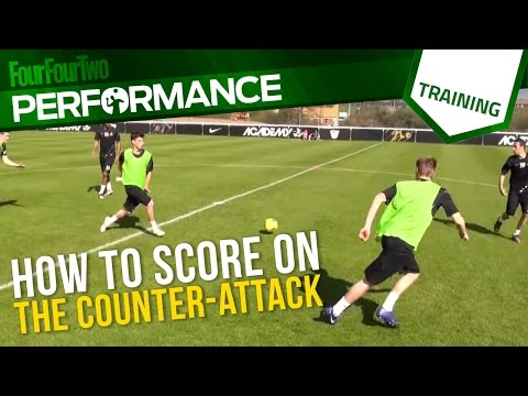 How to hit a team on the counter-attack | Soccer drill | Tactics | Nike Academy