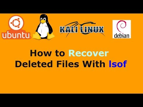 Ubuntu Linux Recover Deleted Files With lsof
