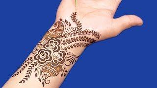 Lovely Mehndi Design for Hands | Easy Mehndi Design for Hands #126 @ jaipurthepinkcity