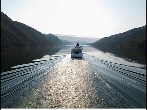 BC Ferry Vancouver To Victoria, British Columbia