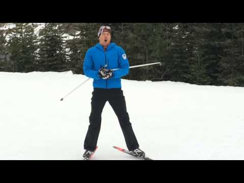 Classic Nordic Skiing, Diagonal Stride: Skipping for Better Grip