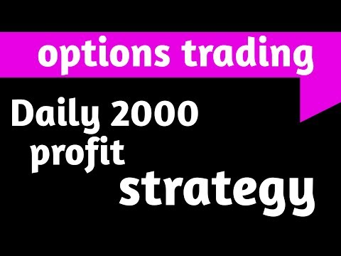 options trading for beginners daily 2000 profit, options trading in india,options trading tutorial,