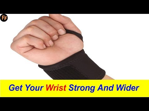 How To Get Strong Wrist-5 Minute Wrist Exercises At Home-How To Make Forearm Bigger And Strong