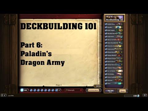 DECKBUILDING 101 Part #06: Paladin's Dragon Army [German / Hearthstone]