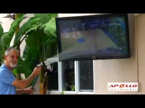 Apollo Outdoor TV Enclosure - Easy Installation