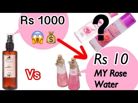 Gulab Jal - DIY Homemade PURE Rose Water For Glowing Clear Skin | Summer Skin Care | JSuper Kaur