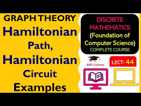 Hamiltonian Path and Circuit with Solved Examples - Graph Theory Hindi Classes