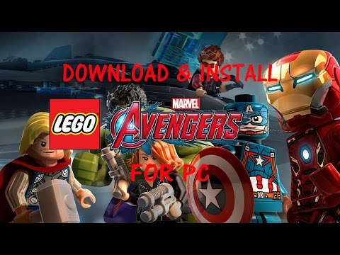 How To Download & Install Lego Marvel's Avengers│FREE FULL PC