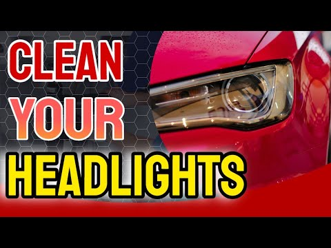 How to Keep Headlights Clean | How To Clean Headlights