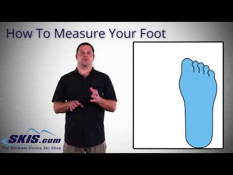How to Measure Your Foot for Ski Boots