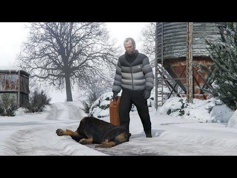 GTA V Trevor's adventures in North Yankton