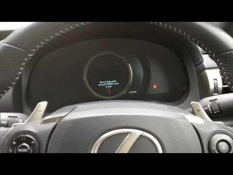 Change mph to kph Lexus is300h F Sport